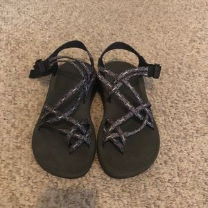 Chaco grey n pink ZX/2 strappy H20 Trail Sandal 10